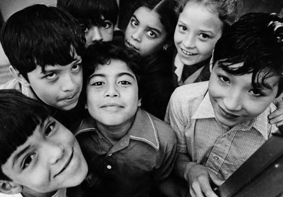 (28275) Ethnic Communities, Latin American, Schools, Children, Detroit, 1981