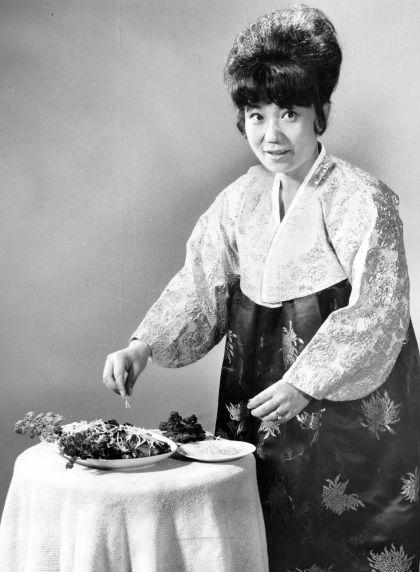 (28279) Ethnic Communities, Korean, Costume, Cooking, 1971