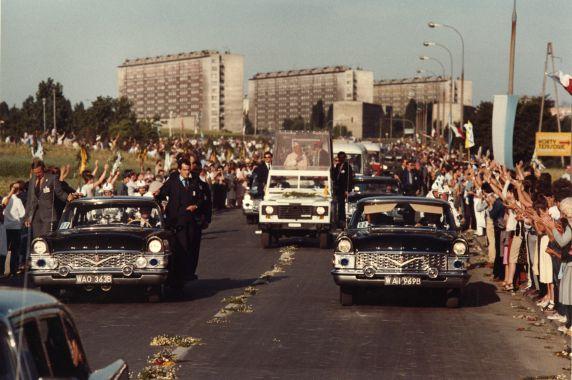 (28359) Pope John Paul II, Papal Visits, Poland, 1980s