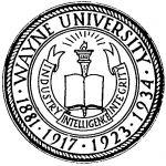 (28395), seal, Wayne University, Detroit, Michigan, ca. 1940.