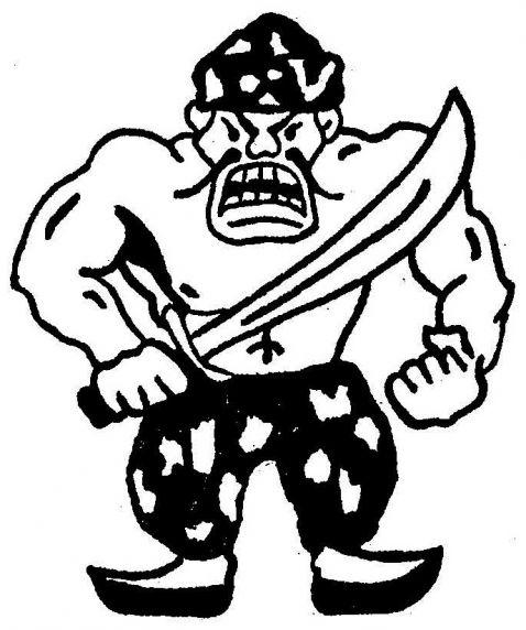 (28396) Tartars logo, Wayne State University, Detroit, Michigan, 1979