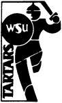 (28402), Tartars logo, Wayne State University, Detroit, Michigan, 1992.