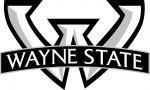 (28403), University logo, Wayne State University, Detroit, Michigan, 2012.