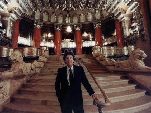(28526) Mike Ilitch, Fox Theater, Detroit, 1990