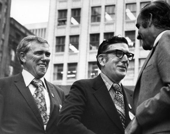 (28558) Politics, Organized Labor, Woodcock, McGovern, Fraser, 1972