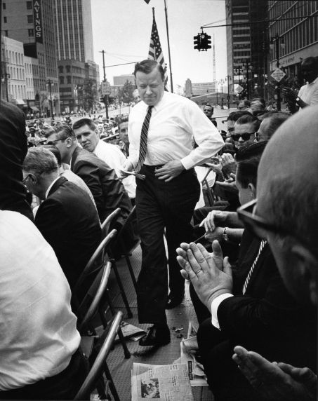 (28581) Walter Reuther Labor Day, Cadillac Square, 1961