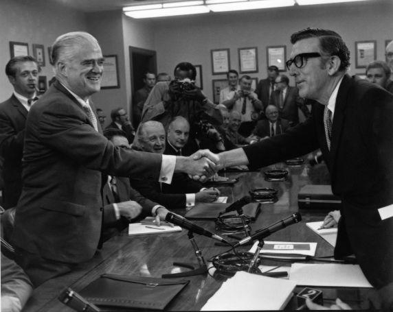 (28665) Leonard Woodcock, General Motors Negotiations, 1970s