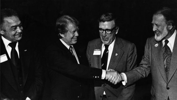 (28784) Presidents, Campaigns, Jimmy Carter, Dearborn, 1976
