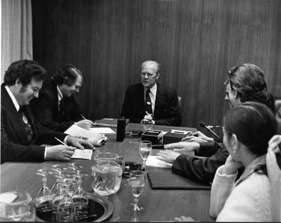 (28820) Presidents, Gerald Ford, Detroit Free Press, 1976