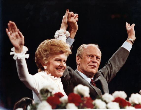 (28827) Presidents, Gerald Ford, Republican National Convention, 1980