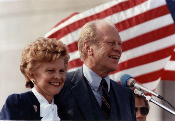 (28828) Presidents, Gerald Ford, Museum Dedication, Grand Rapids, 1981