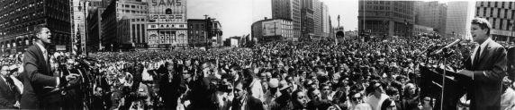 (28841) Political Campaigns, John Kennedy, Robert Kennedy, Detroit, 1960/1968