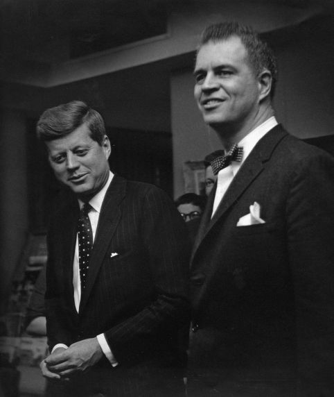 (28850) Political Campaigns, John Kennedy, G. Mennen Williams, Detroit, 1960