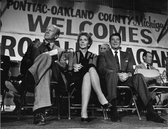 (28867) Presidents, Ronald Regan, Jerry Ford, Pontiac, 1980