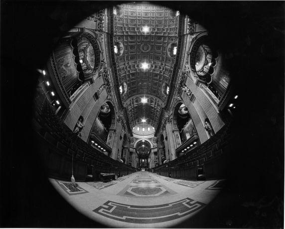 (28906) Vatican City, St. Peter's Basilica, Interior View, 1962