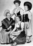 (28910) Ethnic Communities, German, Costumes, Detroit, 1954