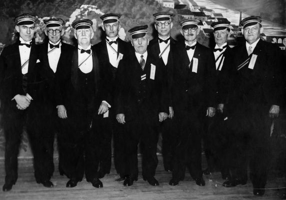 (28924) Ethnic Communities, German, Celebrations, Detroit, 1928