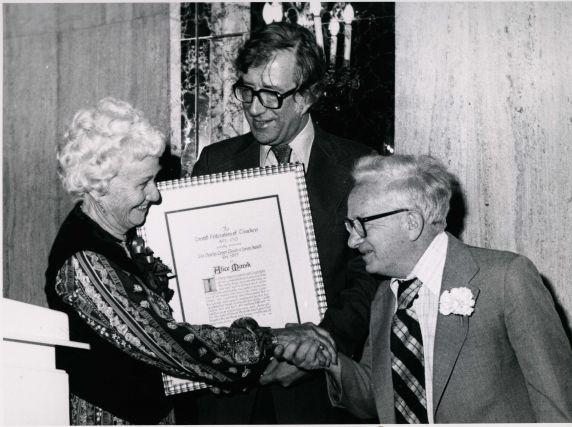 (29038) Charlie Cogen, Albert Shanker and Alice Marsh
