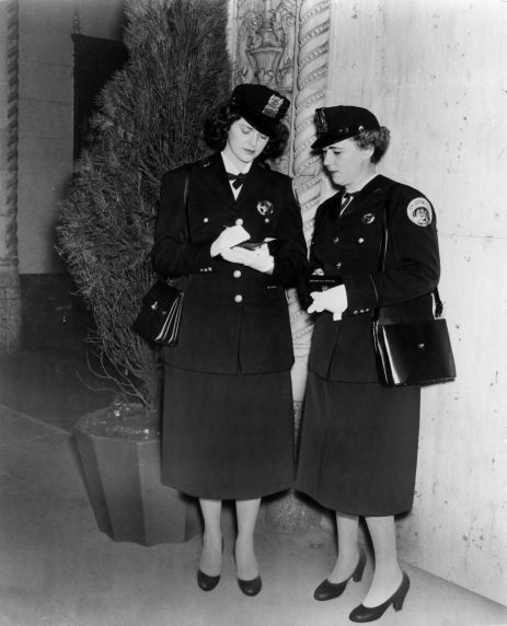 (29172) Female Police Officers, New Orleans, Louisiana, 1956