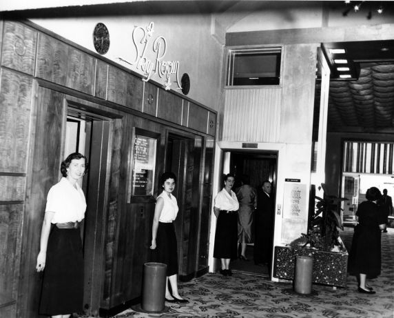 (29180) Local 102, Female Elevator Operators, El Cortez, 1956