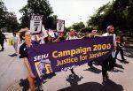 (29189) Local 82, Justice for Janitors Demonstration, Catholic University, Washington, D.C., 2000