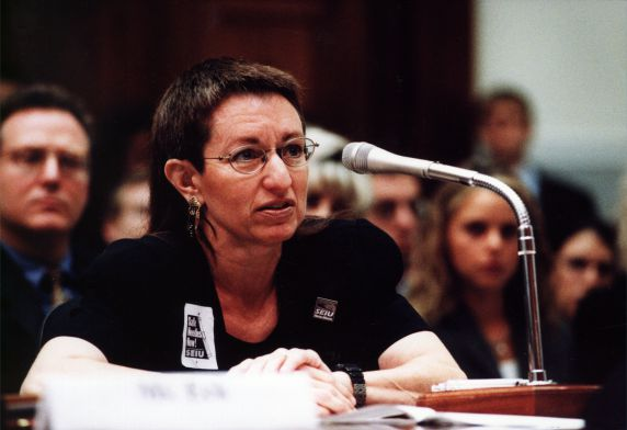 (29190) Lorraine Thiebaud, Needlestick Testimony, Washington, D.C., 2000