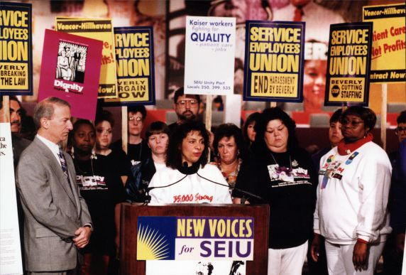 (29213) Andy Stern, New Voices for SEIU, SEIU 21st International Convention, Chicago, Illinois, 1996
