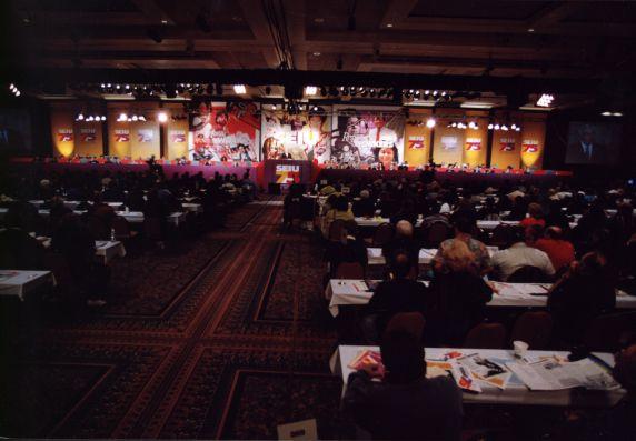(29217) Hall, SEIU 21st International Convention, Chicago, Illinois, 1996