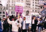 (29219) Living Wage Demonstration, SEIU 21st International Convention, Chicago, Illinois, 1996