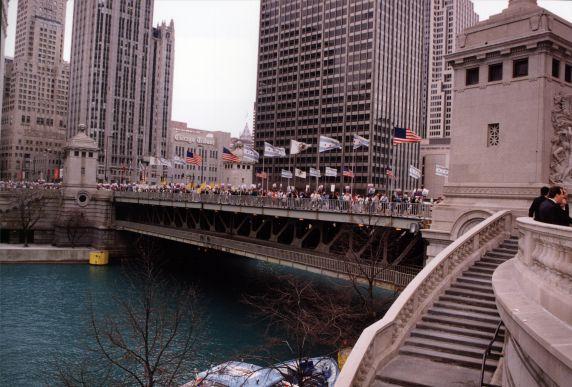 (29221) Living Wage Demonstration, SEIU 21st International Convention, Chicago, Illinois, 1996