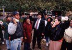 (29225) Richard Trumka and other demonstrators, Justice for Janitors Demonstration, Washington, D.C., 1995