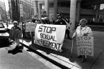 (29226) Local 525, Justice for Janitors Sexual Harassment Picket, Washington, D.C., 1988