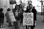 (29227) Justice for Janitors Sexual Harassment Picket, Local 525, Washington, D.C., 1988