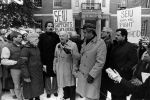 (29232) John Sweeney, Demonstration at South African Embassy, Washington, D.C., 1985