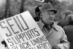 (29233) John Sweeney, South African Embassy Demonstrations, Washington, D.C., 1985