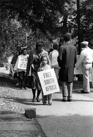(29234) CLUW, Anti-Apartheid Demonstration, Washington, D.C.
