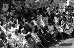 (29237) Demonstrators, Pay Equity Rally, Los Angeles, California, 1985