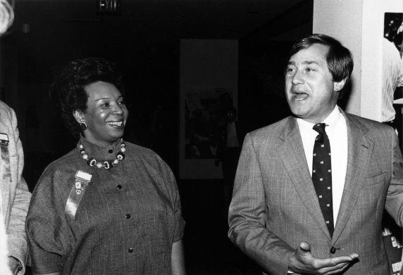 (29239) Governor James Blanchard, SEIU 18th Annual Convention, Dearborn, Michigan, 1984