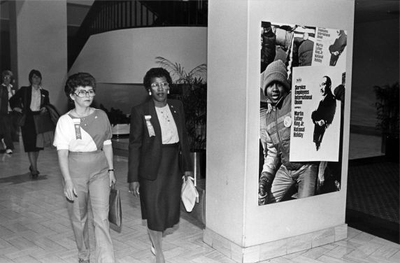 (29244) SEIU Members, SEIU 18th Annual Convention, Dearborn, Michigan, 1984
