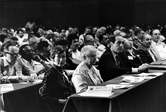 (29245) Local 32B-32J Members, SEIU 18th Annual Convention, Dearborn, Michigan, 1984