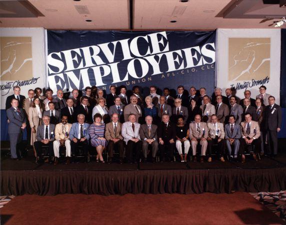 (29247) Executive Board, SEIU 18th Annual Convention, Dearborn, Michigan, 1984