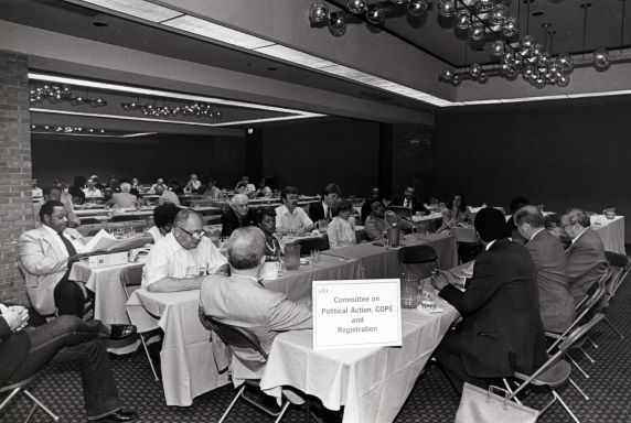 (29248) Committee on Political Action, COPE, SEIU 18th Annual Convention, Dearborn, Michigan, 1984