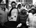 (29252) Local 29 Demonstrators, Pittburgh Lockout, Pittsburgh, Pennsylvania, 1985