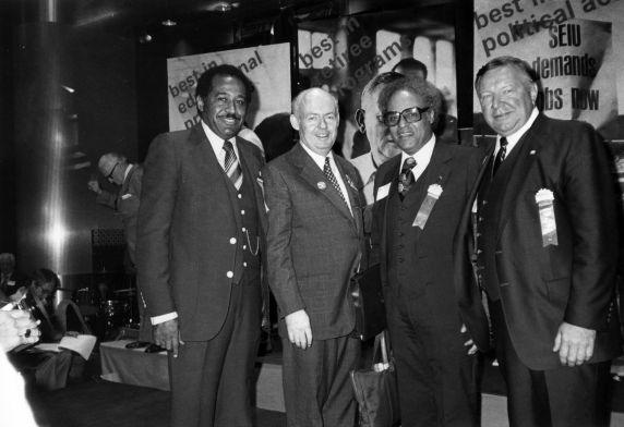 (29267) John Sweeney, Richard Cordtz, SEIU 17th International Convention, New York, New York, 1980