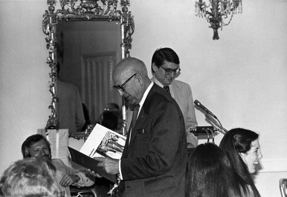 (29277) George Hardy, International Staff Luncheon for George Hardy, Washington, D.C., 1980