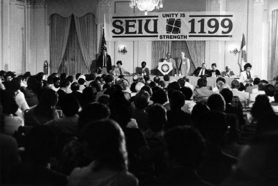(29280) John Sweeney and others, SEIU/1199, Healthcare Conference, Washington, D.C., 1981