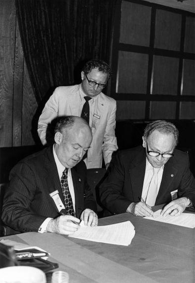 (29282) Sverdlove and Sweeney, IJWU Convention and SEIU Merger, 1980