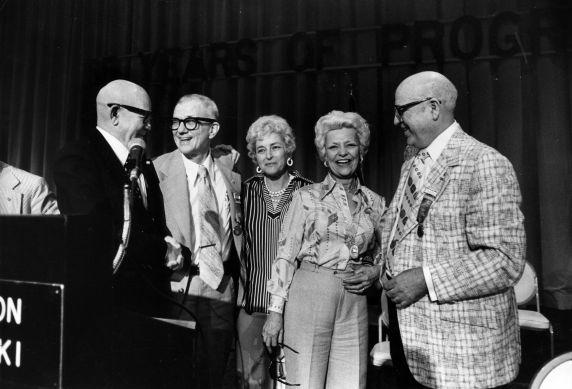 (29302) George Fairchild, George Hardy, and others, 16th General SEIU Convention, Honolulu, Hawaii, 1976