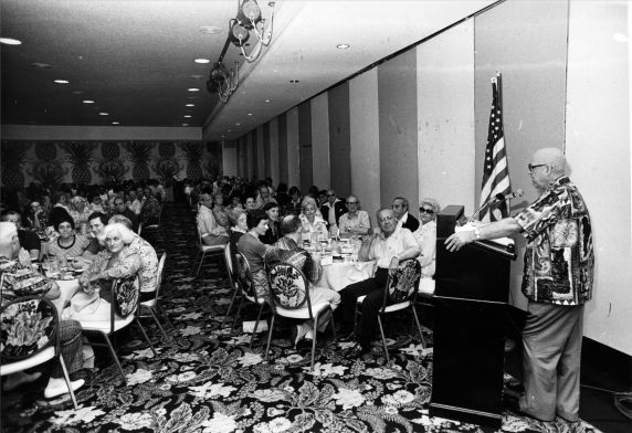 (29307) George Hardy, 16th General SEIU Convention, Honolulu, Hawaii, 1976