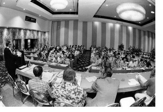 (29311) Attendees, 16th General SEIU Convention, Honolulu, Hawaii, 1976
